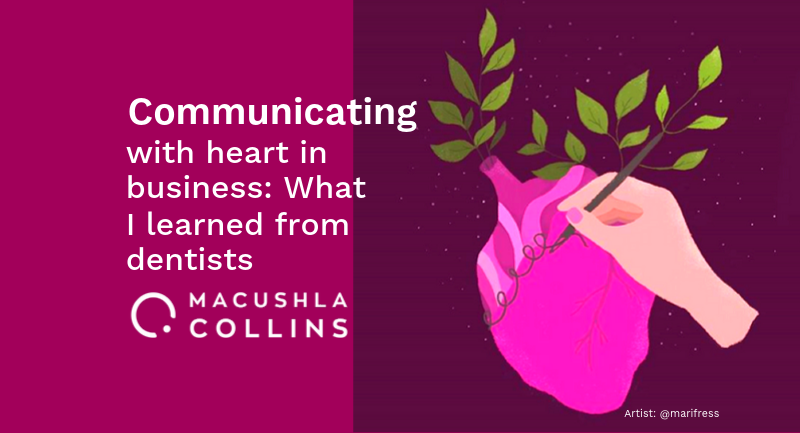 Communicating with heart in business. Conscious business communication
