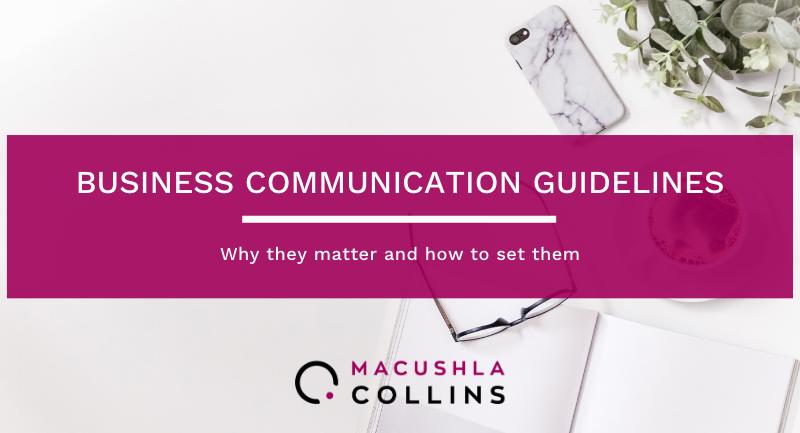 "alt=""business communication guidelines"""